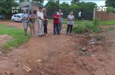 Vecinos de Capiatá acusan abandono de las autoridades