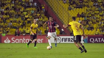 Copa Libertadores. Cerro Porteño cayó en Ecuador y deberá hacer respetar su casa