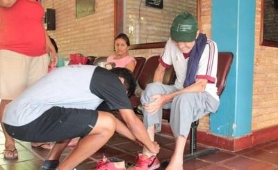 HOY / En su UPD, alumnos visitan a abuelitos que luchan contra el cáncer