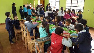 En Ñacunday entregarán merienda escolar dos semanas después del inicio de clases