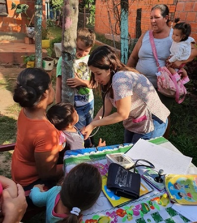 Comunidades de Presidente Hayes reciben atención médica