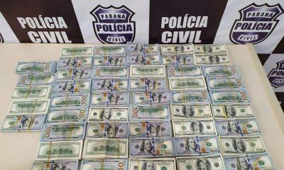 Incautan medio millón de dólares en poder de paraguayas