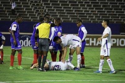 Pablo Aguilar sufre una grave lesión