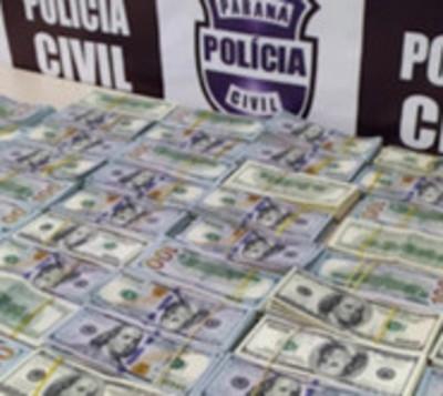 Paraguayas caen con USD 500.000 en Brasil