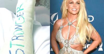 A Britney Spears se le rompió el pie bailando
