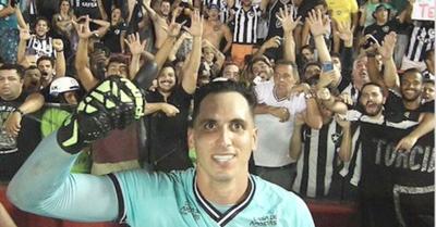 El Gatito Fernández jeýma fue el héroe del Botafogo