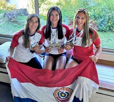 Paraguay logra 2 oro y plata
