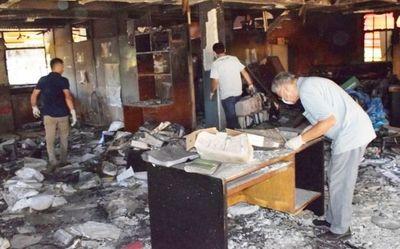 Elevan a juicio oral incendio de Comuna