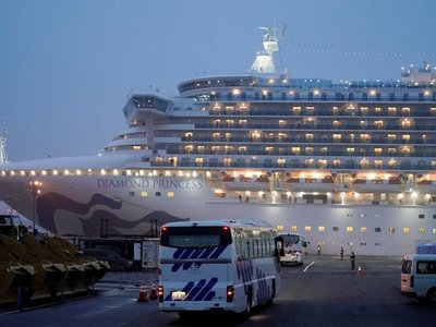 Coronavirus: Concluye desembarco de pasajeros del Diamond Princess