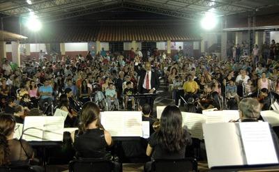 La OSN iniciará en Yaguarón su ciclo de conciertos didácticos