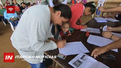 BENEFICIARIOS DE TEKOPORA RECIBIERON UN PLUS EN SUS APORTES