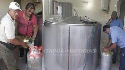CNEL. BOGADO INDUSTRIALIZARÁ MÁS DE 200.000 LTS DE LECHE PARA FINALES DE 2019