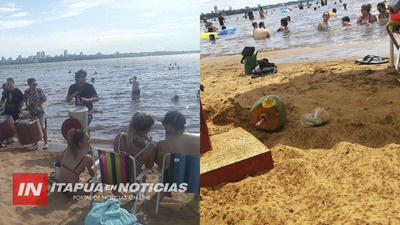 IMPULSAN CAMPAÑA PARA MANTENER LIMPIAS LAS PLAYAS DE ENCARNACIÓN