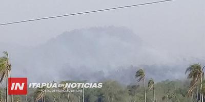 AHORA: NUEVO INCENDIO DE GRAN MAGNITUD EN LA RESERVA SAN RAFAEL