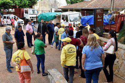 Ciudadanos protestan contra jueza de Villarrica