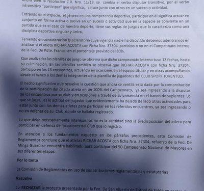 Rechazan protesta contra Minga Guazú y mantiene los puntos