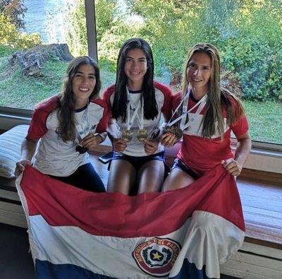 El remo femenino Paraguayo se posiciona en los más alto