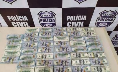 HOY / Alguien que sabía las delató: 2 paraguayas con US$ 500 mil 'sucios' caen en Brasil