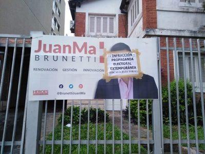 Fiscalía controla y anuncia altas multas por propaganda electoral