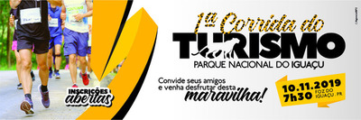 1ª Corrida do Turismo será realizada dentro del Parque Nacional Iguazú
