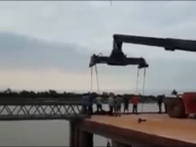 Joven fallece en el puerto de Pilar