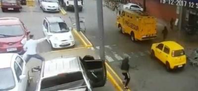 Uruguay: una banda robó 240 mil dólares en 40 segundos