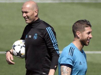Zidane defiende el sueño olímpico de Sergio Ramos