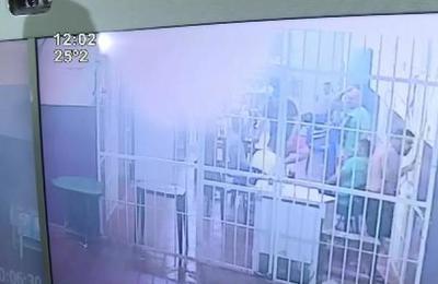 Revelan imágenes de CCTV de la fuga masiva de reos en PJC
