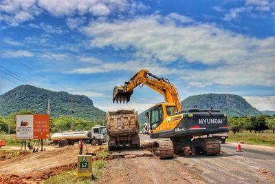 Por USD 36 millones rehabilitan el tramo de la ruta entre Paraguarí y Villarrica