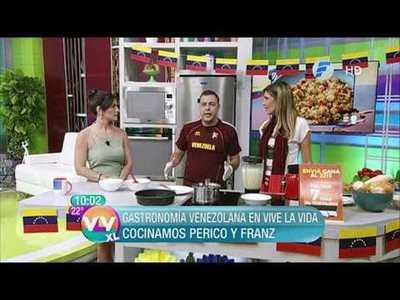 Hoy tuvimos gastronomía Venezolana en Vive la Vida XL