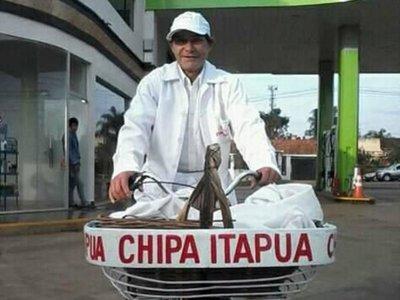 """""""Chipa Itapúa"""" ya podrá vender dentro de la playa"""