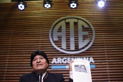 Evo Morales apunta a EEUU por inhabilitación de su candidatura