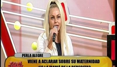 "Perla Alegre exige ADN a ""la bebecita de la casa"""