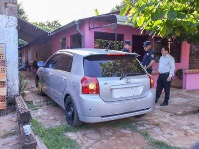 Caaguazú: Recuperan auto que fue robado tras simular compra