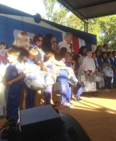 Aseguran que kits escolares se distribuyeron en su totalidad en Amambay