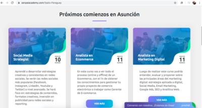 Academia de marketing digital desembarca en Paraguay