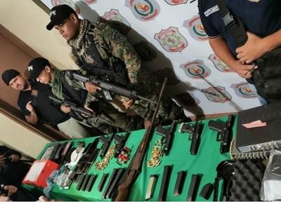 Detienen a 10 personas tras allanamientos en Pedro J. Caballero