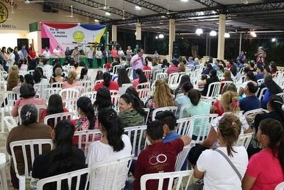 HOY / Ana Geraldo, Presidenta del Comité de Género de la Cooperativa Ñemby y Liz Cristaldo, sobre el festival en homenaje a la Mujer Paraguaya