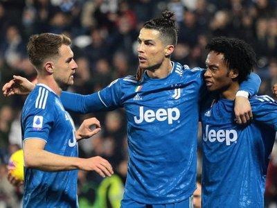 Cristiano sigue en racha y afianza el liderato de Juventus