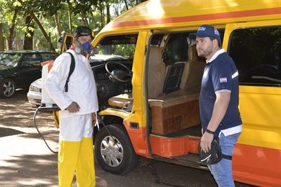 Transportes escolares pasan por inspección