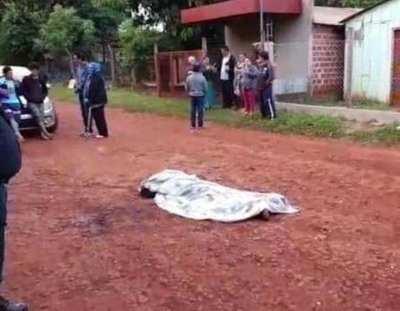Era un domingo tranquilo: homicidio en Hernandarias y motociclista fallecido en Caaguazú