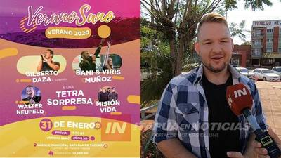 """ARRANCAN ACTIVIDADES DE """"VERANO SANO"""" EN CARMEN DEL PARANÁ"""