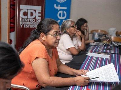 """Indígenas se organizan para defender """"vida digna"""" de sus menores"""