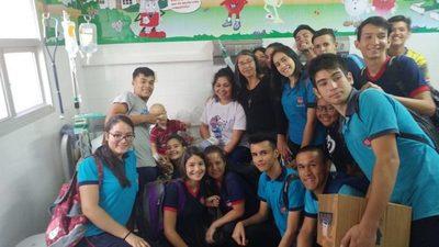 UPD en el Hospital Pediátrico Niños de Acosta Ñu