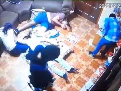 Cinco encapuchados asaltaron una vivienda en Ciudad del Este
