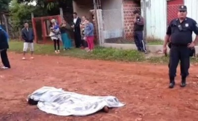 Llamativo hallazgo de cadáver en Hernandarias