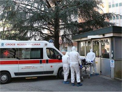 Sube la cifra de fallecidos por coronavirus en Italia