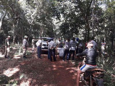 Denuncian invasión y tala ilegal de árboles en reserva de Itaipu