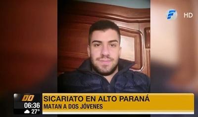 Testigo relata atentado que acabó con la vida de dos jóvenes