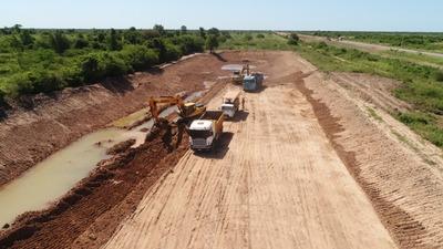Inician trabajos para rehabilitar la ruta Pozo Colorado – Concepción